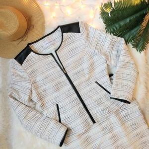 NWT Calvin Klein Tweed Career Suit Set | Size 10